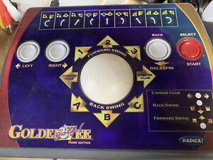 GOLDEN TEE Radica Golf Home Edition Plug and Play TV Video Game 2005 EUC