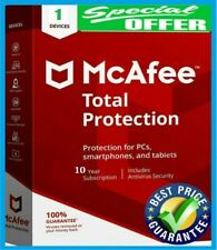 McAfee Total Protection-10 Years Subscription-1 Device(Shared)+GIFT