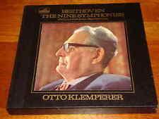 Beethoven Nine Symphonies Klemperer HMV UK 9 LP Box