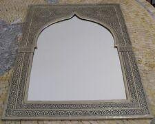 Moroccan Silver Mirror-Moroccan mirror silver-Silver Moroccan mirror-mirror silv
