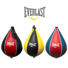 New Everlast Original Leather Boxing Speed Bag Reflex Training MMA Gym Fitness