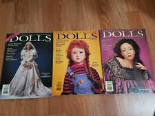 DOLLS The Collectors Magazine - Lot of 3 Magazines 1994