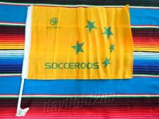 ✺New✺ SOCCEROOS Car Flag - 48cm x 31cm - Tim Cahill 2017 Jersey Not Signed