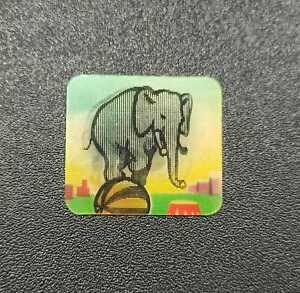 Figurina Animata - Formaggino Mio Locatelli - Serie Acrobati - Elefante