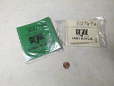 G.I.Joe Army And Marine Corps Manuel Booklet Repro
