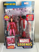 Marvel Legends Legendary Rider Series Scarlet Witch Trading Card ToyBiz 2005
