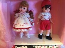 """MADAME ALEXANDER 8"""" JACK AND JILL SET #14626  BOX New Collectors Dream"""
