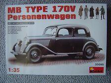 MiniArt 1/35 Mercedes Benz Typ 170V Personenwagen (includes 5 figures)