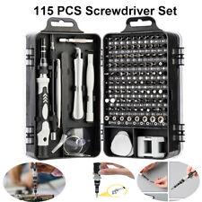 115PCS Mini Magnetic Screwdriver Set Computer Smart Watch Phone Repair Tool Kit