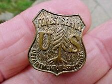 Vintage Small US Forest Service Badge