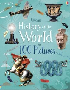 Usborne Picture History of the World in 100 Pictures (Hardcover)FREE ship $35