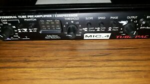 Art Professional TUBE PAC Tube Preamp Compressor Tested Read