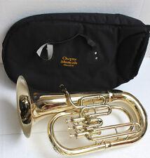 "Euphonium Shinning Brass Bb FLAT 3V ""CHOPRA MUSICALS""M/PIECE & Bag Fast Shipping"