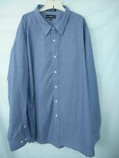 Beverly Hills Polo Club 4XLT  Mens Button Down Shirt Long Sleeve Stripe