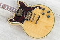 D'Angelico Guitars Deluxe Brighton Electric Guitar, Pau Ferro, Natural Swamp Ash