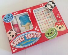 ** NEw ~ Sweet Treats ~ Lip & Nail Gift Set ~ Lip balm Vanish & Stickers **