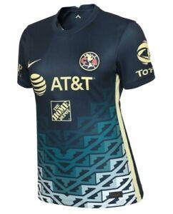 Nike Club America Away WOMENS Jersey MUJER Club America 2021/2022 Standard Fit