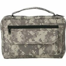 Mens Digital Camo Bible Cover, Army Camouflage Boy Zippered Large Book Protector