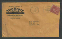1927 THE HOME FURNISHING CO WHOLESALE RETAIL WICHITA KS FANCY ADVERTISING COVER