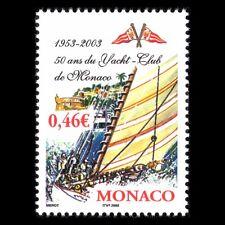 Monaco 2003 - 50th Anniv of the Yachtclub Monaco Boats Sports - Sc 2283 MNH