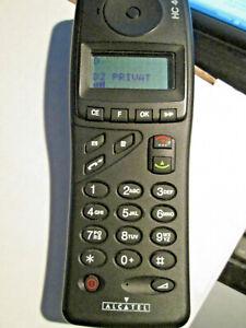 ALCATEL HC 400 OVP Vodafone Heft D  Dänish Svenska Lader super ok gebr Art. 66P