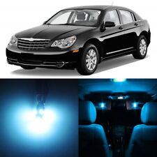 12 x ICE BLUE Interior LED Lights Package For 2007- 2010 Chrysler Sebring +TOOL