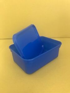Plastic Storage Containers 80 x 2ltr Rectangular BLUE.