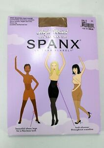 Spanx High Waist All The Way Up Pantyhose Nude 1 Size C Sheer NWT