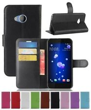 Wallet Leather Flip Card Case Pouch Cover For HTC One U11 Life Genuine AuSeller