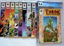 Turok #1 - CGC 9.6 Near Mint+ - Valiant 1992 - Plus Turok #2,3,4,5,6,7,9,10 LOT!