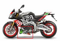 Aprilia Tuono V4 1100 Factory Custom Italienische Flagge Motorspoiler Grafiken