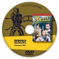 Heidi 1968 Classic DVD Film - Drama, Family