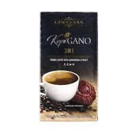 3 GANO EXCEL Cafe 3 in 1 Coffee Ganoderma Lucidum (45 sachets) Exp May 2022