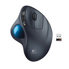 Logitech M570 Wireless Trackball Mouse (gray/blue)