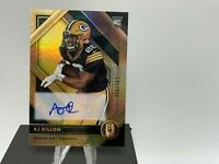 2020 Panini Gold Standard AJ Dillon rookie auto 56/100 packers