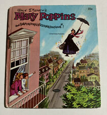 Walt Disney's Mary Poppins   A Whitman Tell-a-Tale Book (2) 1964 Vintage