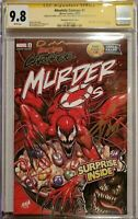 Absolute Carnage #1 Murder O's Variant CGC SS 9.8 3x Nakayama, Cates, & Stegman