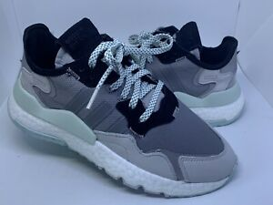 Adidas Originals Nite Jogger Grey Women's Shoes Sneakers Size 7.5 EE5913