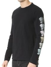 Marc Jacobs Noir Coupe Slim imprimé Tigre T Shirt Fabriqué En Italie BNWT Med UK38 IT48