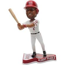 Albert Pujols California Angels Flag Base FOCO '13 Los Angeles Angels Bobblehead