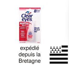 Clear Eyes gouttes oculaires Lubrifiant anti yeux rouges une goutte suffit!