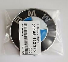 BMW BONNET BADGE 82MM SUITS 1 2 3 4 5 6 7 SERIES X3 X4 X5 X6 Z3 Z4 Z8 CARS