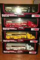IROC TRUE VALUE DODGE TRANSPORTERS COMPLETE SET OF 4  1/64 SCALE NEW IN BOX (108