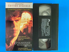 L'enigmatique Mr Ripley /The Talented Mr. Ripley (Vhs ) tape & sleeve French