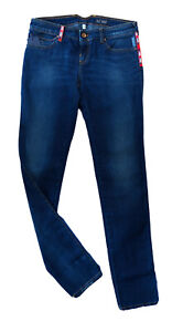ARMANI JEANS Women`s Jeans Size 30 Skinny Embroidered RRP: 181 EUR
