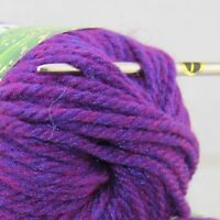 Sale new soft warm 1 BallX50g Chunky Thick Wool Hand Knitting Yarn Royal Purple
