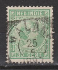 Nederlands Indie Netherlands Indies Indonesia 28 TOP CANCEL MALANG 1892