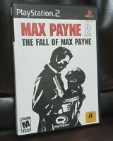 Max Payne 2 The Fall Of Max Payne For PlayStation 2 PS2 LIKE NEW GREAT CONDITION