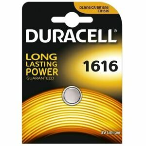 Duracell CR1616 DL1616 ECR1616 Lithium 3v Batteries Coin Cell Use By 2026