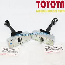 NEW GENUINE TOYOTA FRONT DRIVER & PASSENGER DOOR CHECK ASSY. SET